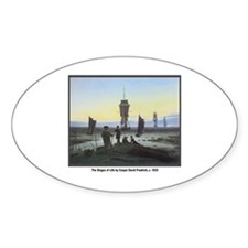 Friedrich Stages of Life Oval Decal