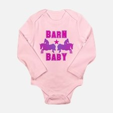 Barn Baby Hunter Princess Bodysuit w/ sleeves