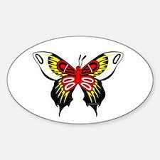 Medicine wheel animal Sticker (Oval)