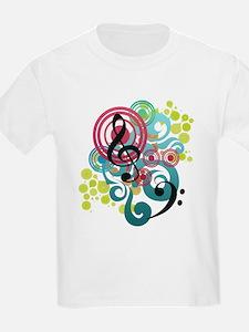 Music Swirl T-Shirt