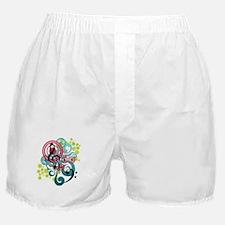 Music Swirl Boxer Shorts