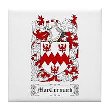 MacCormack Tile Coaster