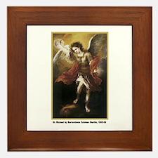 Murillo St. Michael Framed Tile