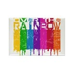 Over the Rainbow Rectangle Magnet (100 pack)