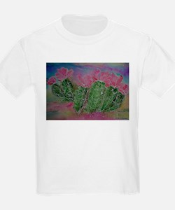 Cactus, Blossoms, Colorful, T-Shirt