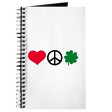 Love, Peace & Shamrock Journal