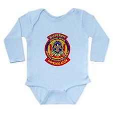 Mississippi Highway Patrol CI Onesie Romper Suit