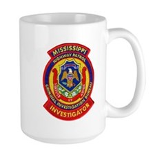 Mississippi Highway Patrol CI Mug