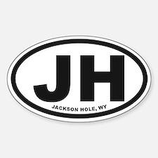 Jackson Hole Sticker (Oval)