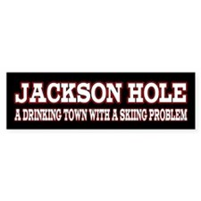 Jackson Hole Bumper Sticker