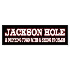 Jackson Hole Car Sticker