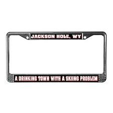 Jackson Hole License Plate Frame