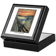 Edvard Munch Scream Keepsake Box