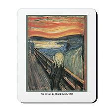 Edvard Munch Scream Mousepad