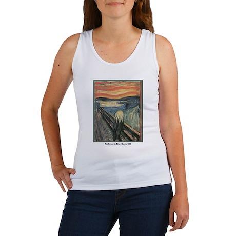 Edvard Munch Scream Women's Tank Top