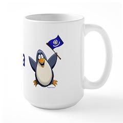 Louisiana Penguin Mug