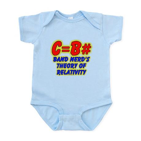 Band Nerd's Theory of Relativity Infant Bodysuit
