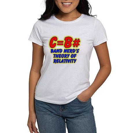 Band Nerd's Theory of Relativity Women's T-Shirt