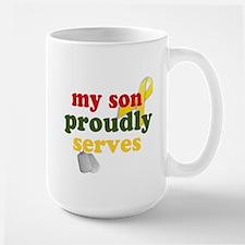My Son Proudly Serves Mug