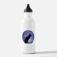 Cat & Moon Water Bottle