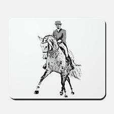 Dressage horse Mousepad