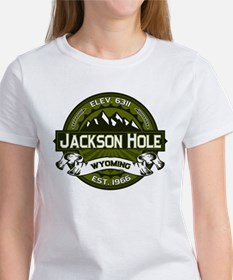 Jackson Hole Olive Women's T-Shirt