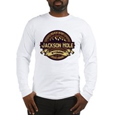 Jackson Hole Sepia Long Sleeve T-Shirt