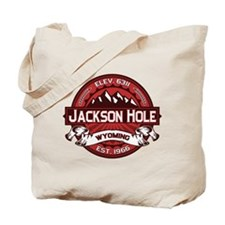 Jackson Hole Red Tote Bag