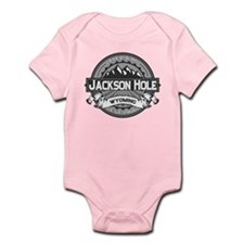 Jackson Hole Grey Infant Bodysuit