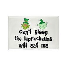 Leprechaun Rectangle Magnet (10 pack)