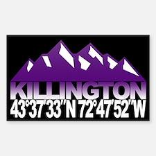 Killington Sticker (Rectangle)