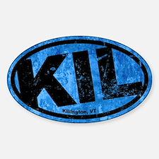 Killington Sticker (Oval)