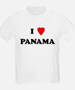 I Love Panama Kids T-Shirt