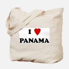 I Love Panama Tote Bag