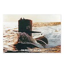 USS BILLFISH Postcards (Package of 8)