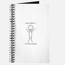 Cute Stick people Journal