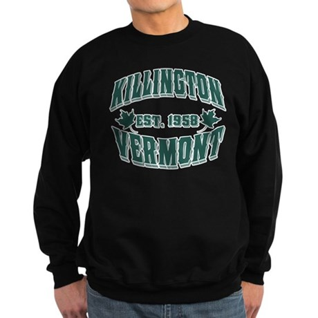 Killington Old Style Green Sweatshirt (dark)
