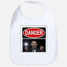 Danger - Obama! Bib