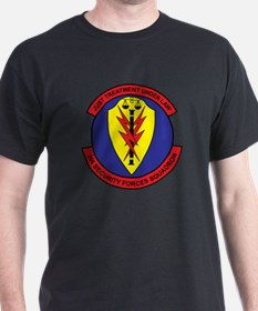 366th Security Forces Black T-Shirt