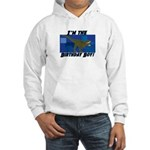 Birthday Boy Dinosaur Hooded Sweatshirt