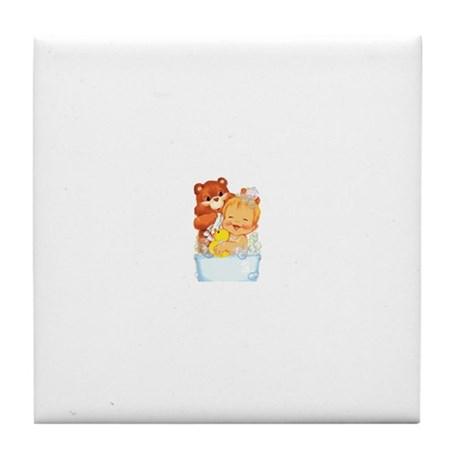 Cloth Diapers Tile Coaster