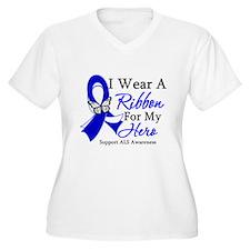 ALS I Wear A Ribbon T-Shirt