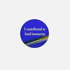 Herd Immunity Mini Button