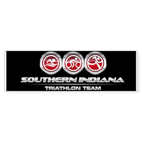 SI Triathlon Team Sticker (Bumper)