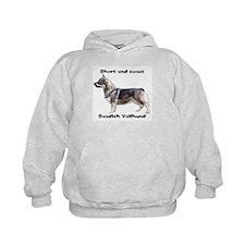 Swedish Vallhund short and sweet Hoodie