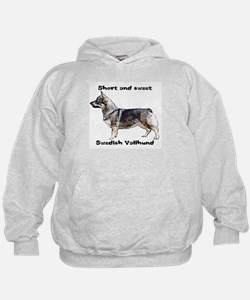Swedish Vallhund short and sweet Hoodie