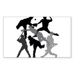BASEBALL 1 Sticker (Rectangle 10 pk)