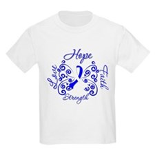ALS Hope Love Faith Strength T-Shirt