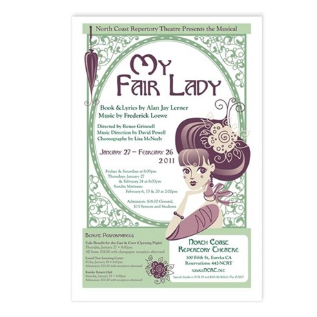 My Fair Lady Postcards (Package of 8)