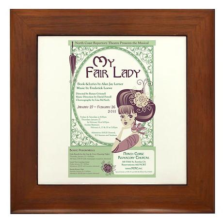 My Fair Lady Framed Tile